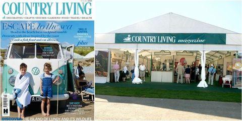 magazine fair tent