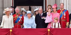 The Royal Family at Trooping the Colour