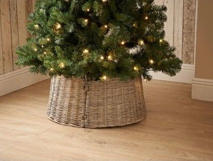 Wicker Christmas Tree Skirt - Amazon