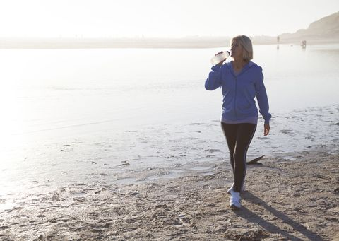 Walking is apparently better for burning body fat than running