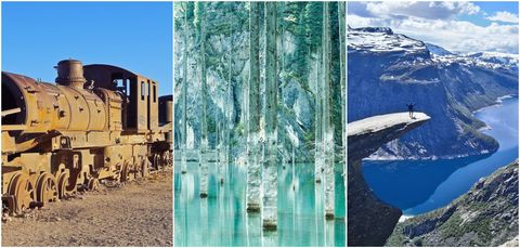 Secret marvels of the world - collage