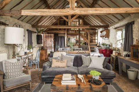 Unique Home Stays this 16th-century, rough-luxe holiday barn offers a slice of rustic