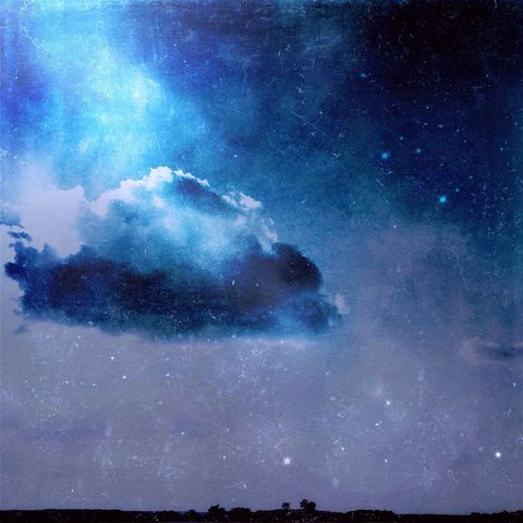 Dreaming - stars and cloud