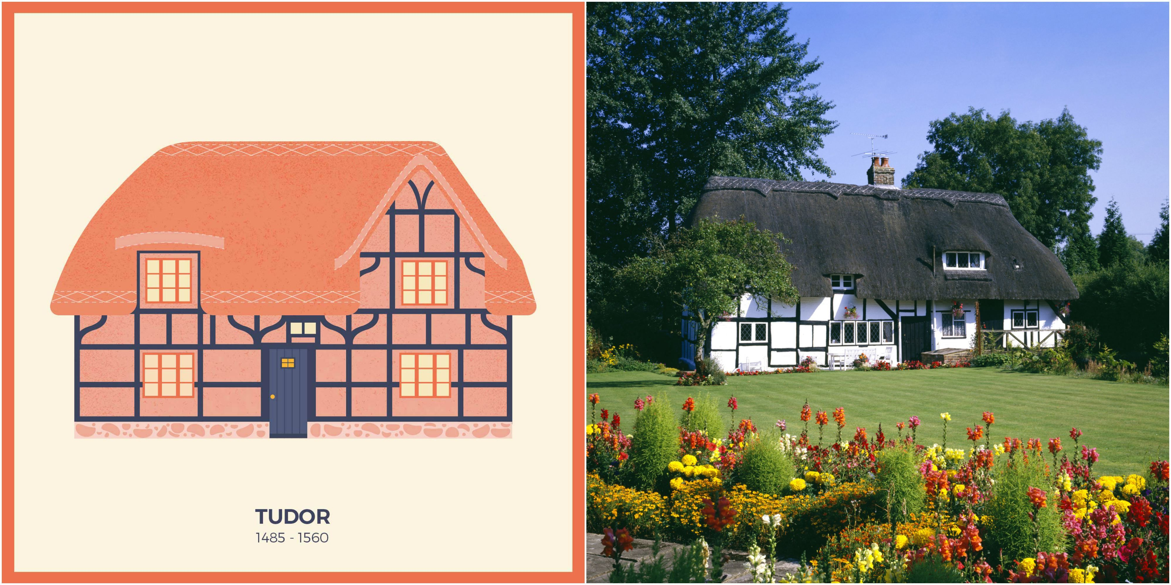 Which house do you live in 13 illustrations depict british houses through the ages