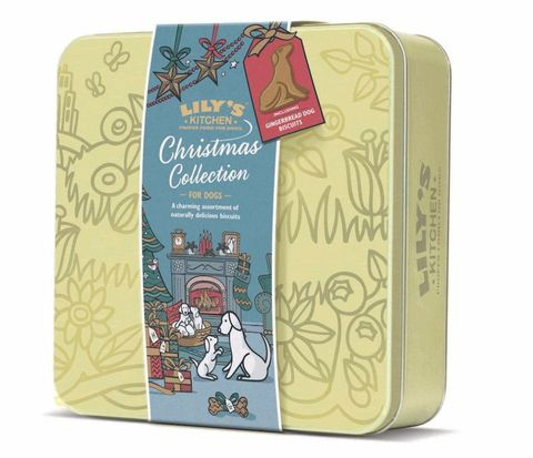 Lily's Kitchen - 'Christmas Collection' Biscuit Selection Tin for Dogs, 210g
