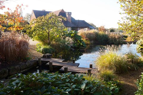 This beautiful Sussex garden blends seamlessly into its rural surroundings