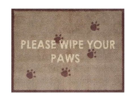 Turtle Mat - Please wipe your paws - dog - Christmas gift
