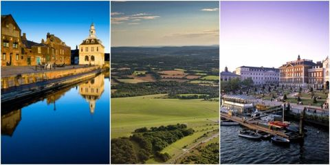 happiest places to live in UK