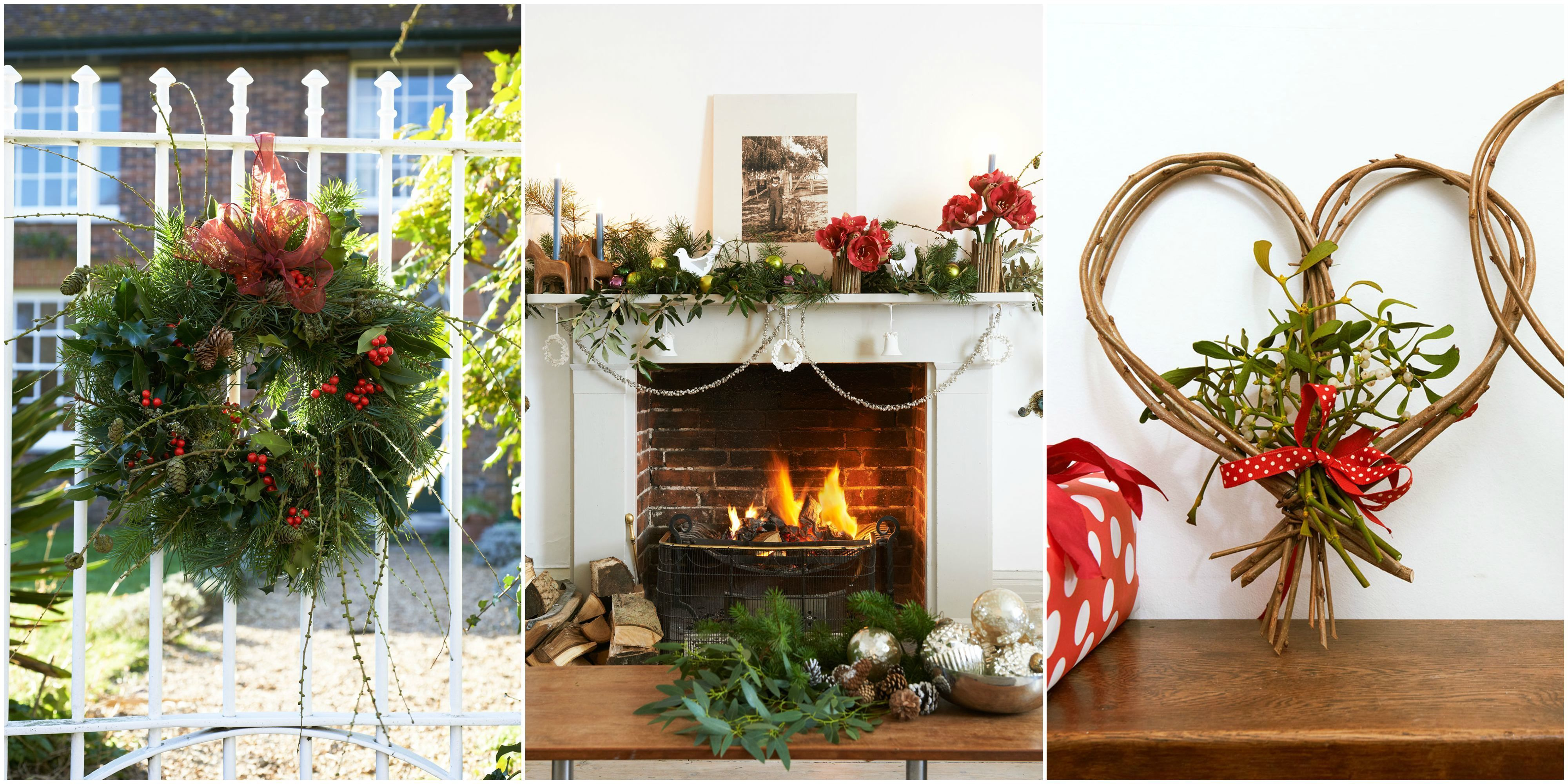 Christmas Decorating Ideas With Greenery