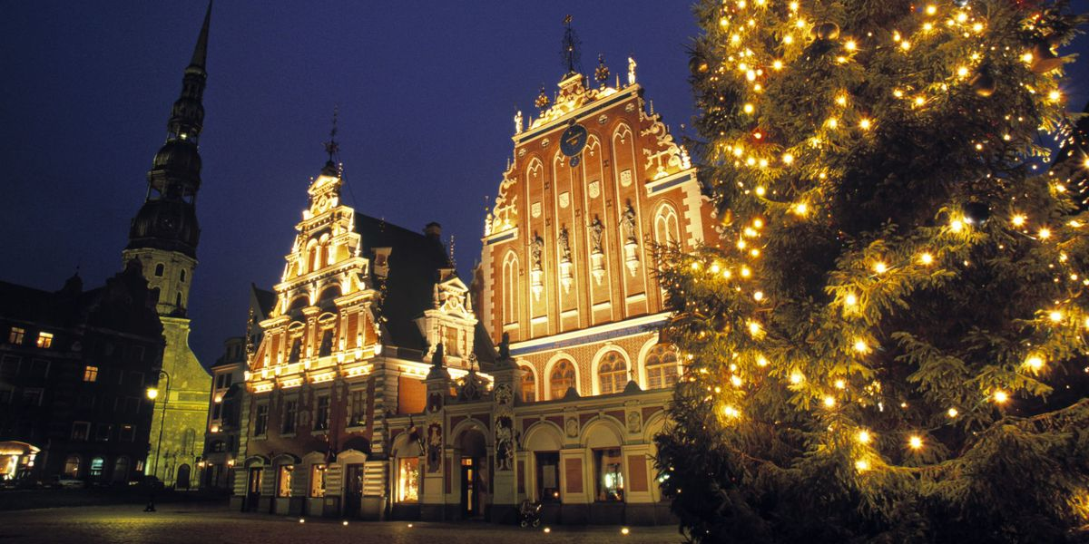Riga has been named the best-value city for a Christmas market weekend break