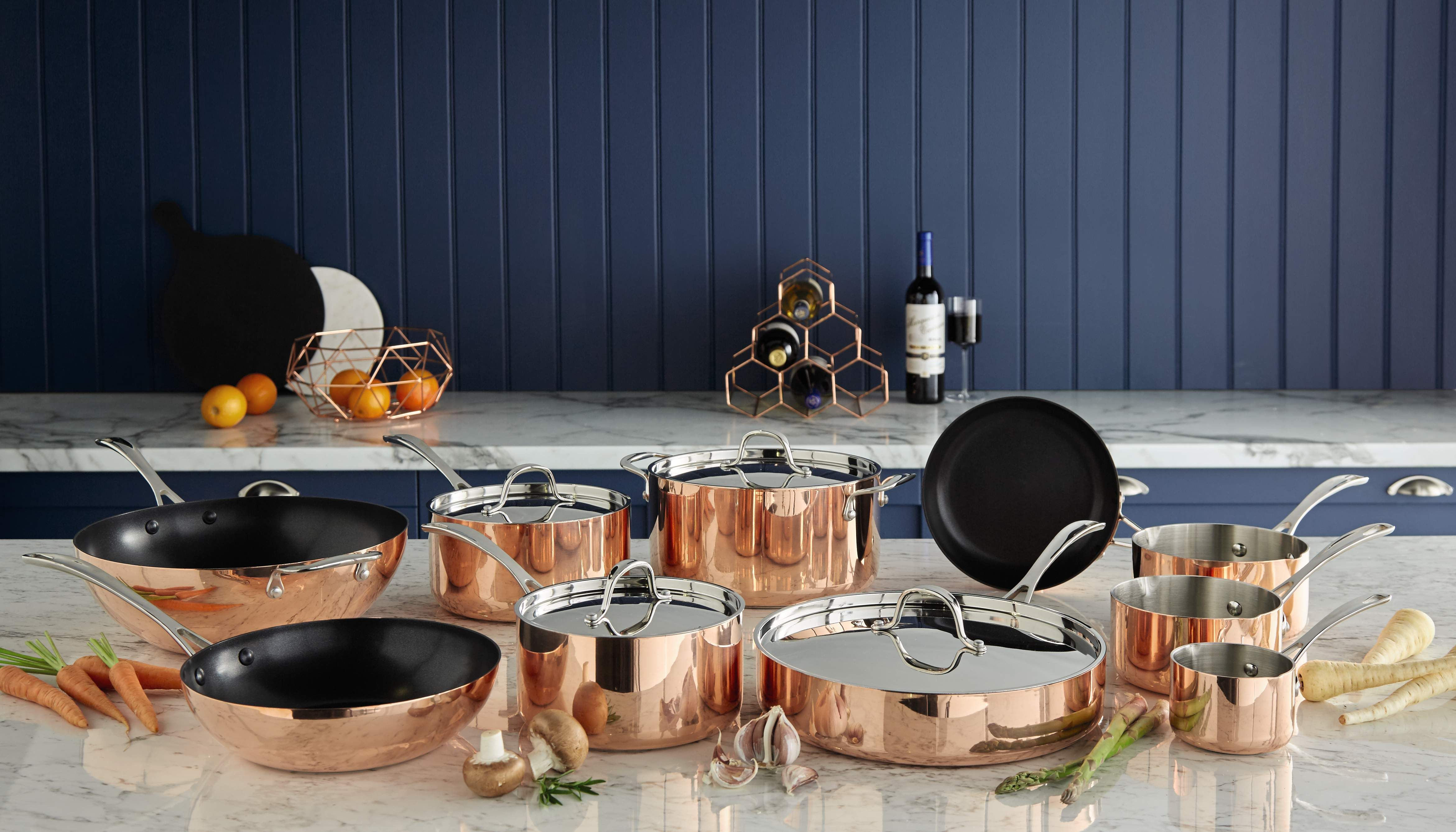 Collection Copper Coated Stove