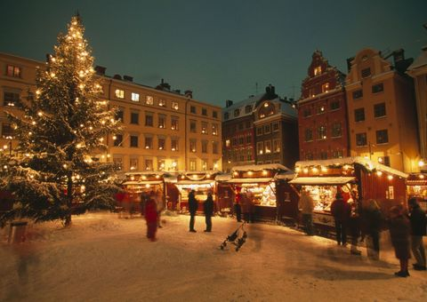 "<p>The Christmas market in the Swedish capital is held in the old town called Gamla Stan, which is the most famous and traditional Christmas market in the city. Adorned with little red stalls which sell sweets, smoked sausages, mulled wine <a href=""https://www.visitstockholm.com/events/fairs/christmas-market-in-the-old-town/"" data-href=""https://www.visitstockholm.com/events/fairs/christmas-market-in-the-old-town/"" target=""_blank"">and reindeer, apparently</a>, the stalls are open daily between 11am and 6pm until 23rd December.</p><p>Currently, flying from London Stansted airport to Stockholm will cost £33 on Thursday 14th December - Sunday 17th. The Castanea Old Town hostel, located in the Old Town too, has dorm beds from £27 and private rooms from £75, <a href=""https://www.hostelworld.com/hosteldetails.php/Castanea-Old-Town-Hostel/Stockholm/18034?dateFrom=2018-05-18&amp&#x3B;dateTo=2018-05-19&amp&#x3B;number_of_guests=2&amp&#x3B;sc_pos=3"" data-href=""https://www.hostelworld.com/hosteldetails.php/Castanea-Old-Town-Hostel/Stockholm/18034?dateFrom=2018-05-18&amp&#x3B;dateTo=2018-05-19&amp&#x3B;number_of_guests=2&amp&#x3B;sc_pos=3"" target=""_blank"">according to Hostel World.</a></p>"