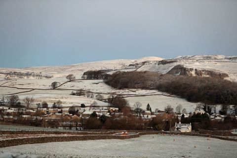 Snow in Yorkshire