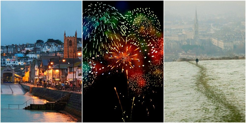 10 of the best places to spend New Year's Eve and New Year's Day in the UK
