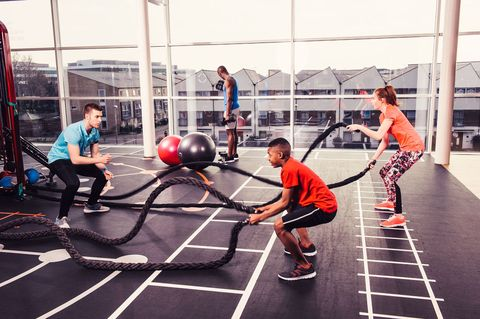 "<p>The Chief Medical Officer in England recommends that children do at least 60 minutes of activity every day but, according to Sport England, nearly four in five kids aren't doing enough. Parents play a key role in shaping a child's attitude to exercise, and families that exercise together form healthy habits that last a lifetime.</p><p> 2018 sees Sport England investing in a&nbsp;<a href=""https://www.sportengland.org/funding/families-fund/"">Families Fund</a>&nbsp;to encourage children and their parents or carers to get active together. And, as parents look for ways to distract children from screen time, there's a growing trend for family workout classes, too.&nbsp;</p><p><strong data-redactor-tag=""strong"">What's near you?</strong><span class=""redactor-invisible-space""></span><br></p><p><a href=""http://www.davidlloyd.co.uk/"">David Lloyd</a>&nbsp;clubs is rolling out a range of classes including Family Circuits, Family Synrgy 360 (like a playground in the gym) and even Battlebox Play (an outdoor bootcamp).<span class=""redactor-invisible-space"" data-verified=""redactor"" data-redactor-tag=""span"" data-redactor-class=""redactor-invisible-space""></span></p>"