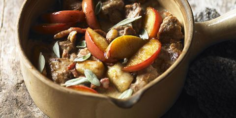 pork apple casserole