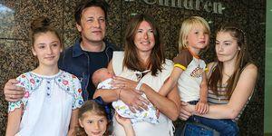 Jamie Oliver's family