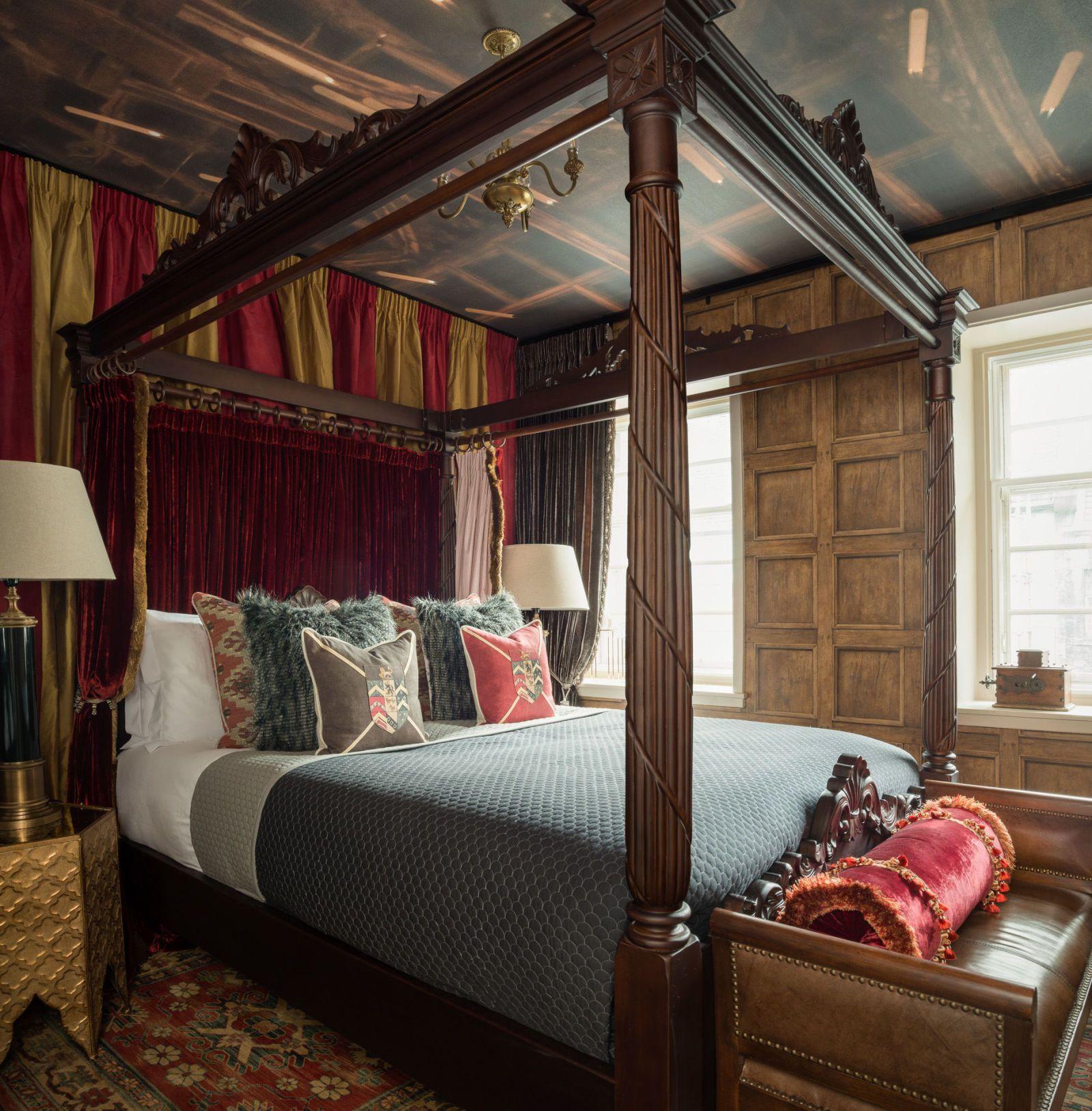 Exceptionnel Canongate U2013 Edinburgh   Harry Potter Apartment   Bedroom   ZAC And ZAC