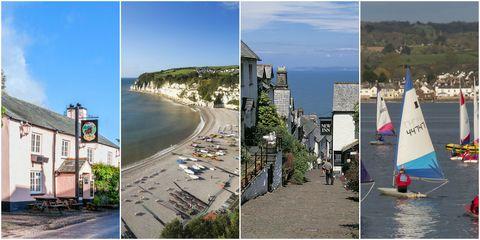 Devon villages