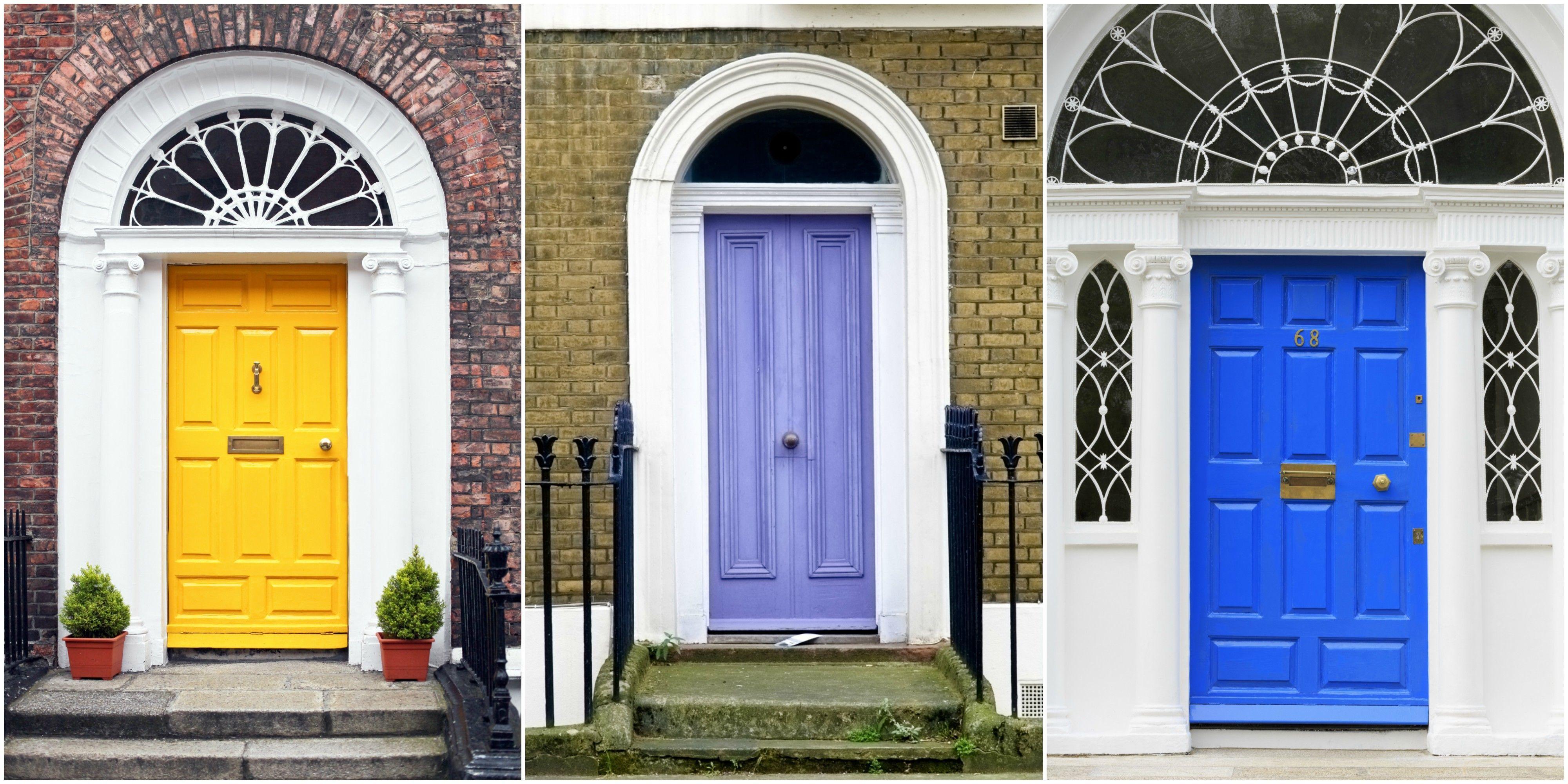 front door colours & 10 most popular door colours in 2018 - Front door colour trends 2018