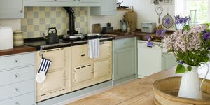 "<p><em data-redactor-tag=""em"" data-verified=""redactor"">Oh, maybe one day my kitchen will look like this...</em></p><p>Just because I don't have room for an AGA in my kitchen, doesn't mean I can't have <em data-redactor-tag=""em"" data-verified=""redactor"">some</em> rural adornments. I'm after sustainably made items that will stand the test of time – instead of knick-knacks ultimately destined for landfill. So, I'll opt for terracotta mixing bowls, real oak chopping boards and glazed receptacles from which to pour guests homemade elderflower concoctions (which I've admittedly never made before, but how hard can it be?)</p>"