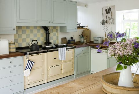 "<p><em data-redactor-tag=""em"" data-verified=""redactor"">Oh, maybe one day my kitchen will look like this...</em></p><p>Just because I don't have room for an AGA in my kitchen, doesn't mean I can't have&nbsp;<em data-redactor-tag=""em"" data-verified=""redactor"">some</em>&nbsp;rural adornments. I'm after sustainably made items that will stand the test of time – instead of knick-knacks ultimately destined for landfill. So, I'll opt for terracotta mixing bowls, real oak chopping boards and glazed receptacles from which to pour guests homemade elderflower concoctions (which I've admittedly never made before, but how hard can it be?)</p>"