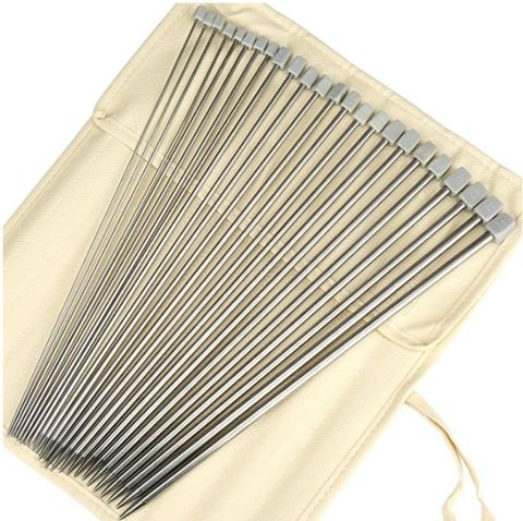 Stainless Steel Single Pointed Knitting Needles Kit - Amazon