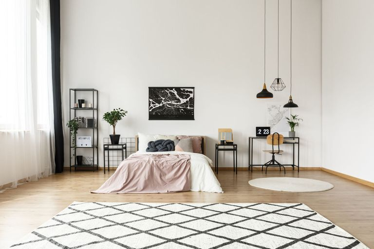Relatively Black-and-white Moroccan rugs are this season's hottest interior  CO18