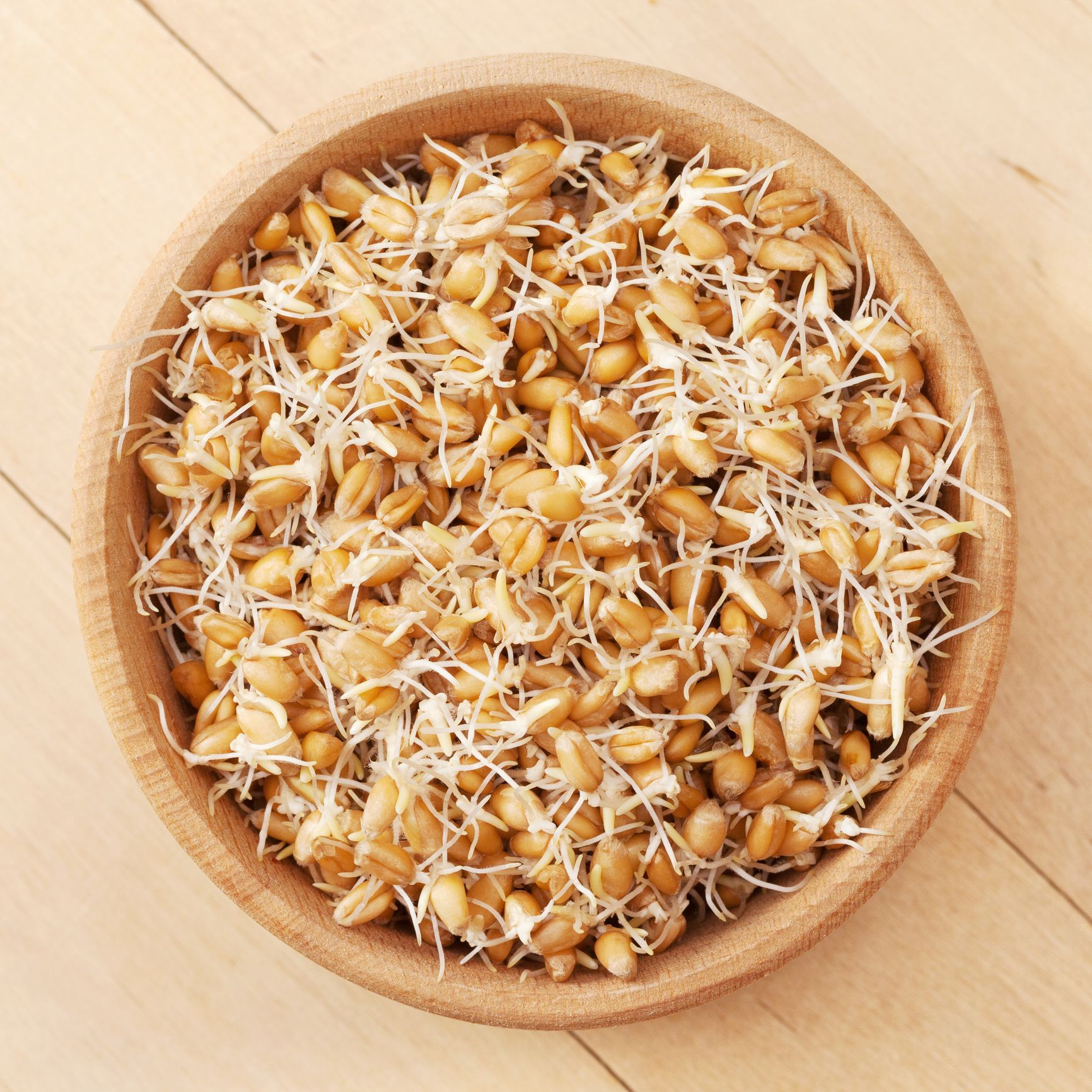 """<p>Sprouted grains are whole grains (brown rice, oats, buckwheat etc.) that have been soaked and left to germinate. The process is said to make it easier for your body to absorb the nutrients it wants and needs, therefore making B vitamins,<a href=""""http://www.prima.co.uk/diet-and-health/healthy-living/advice/a40184/summer-cold/"""" target=""""_blank"""" data-tracking-id=""""recirc-text-link"""">vitamin C</a> and folate more readily available to the body, resulting in more energy.</p>"""