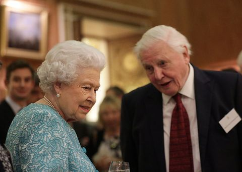 The Queen, David Attenborough