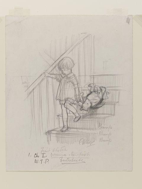 winnie-the-pooh original sketch