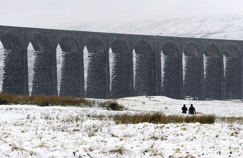 snow yorkshire uk