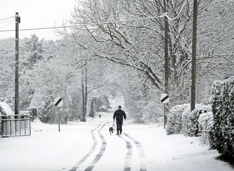 beast from the east snow in yorkshire england
