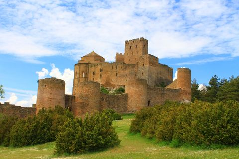 Castle of Loarre - Huesca province - Spain