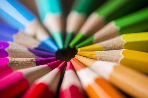 colouring pencils