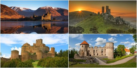 11 of the world's most beautiful abandoned castles