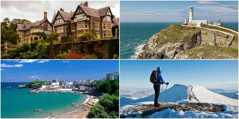 Most Instagrammed Wales places
