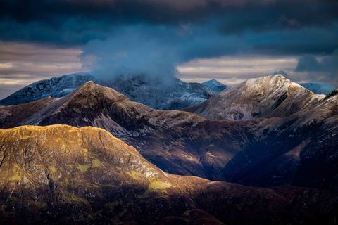 Paul Webster - The Mamores - Glen Coe