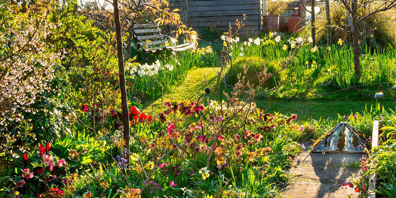 This Cotswold Cottage Has A Beautiful Spring Garden Spring
