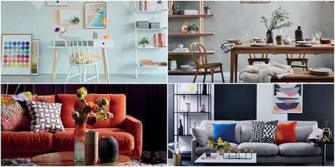 Green, Room, Interior design, Yellow, Home, Furniture, Living room, White, Orange, Wall,