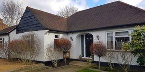 Surrey house - raffle - front - DOTS