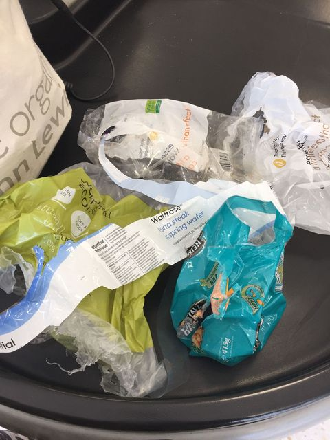 I left all my plastic at the till in Waitrose, Lidl and Sainsbury's, and this is what happened...