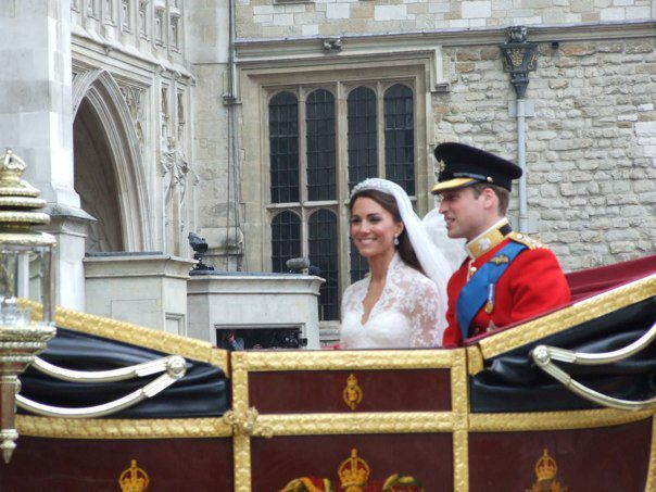<p>Captured by Anita Atkinson, who spent three nights camping outside Westminster Abbey in preparation for the 2011 Royal Wedding. The shots certainly prove the good seat she ended up having.</p>