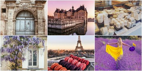 Most Instagrammed things in France
