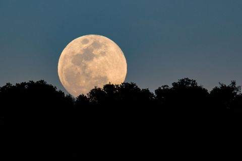 There will be a double blue moon on Easter Saturday, with 6 superstitions attached to it