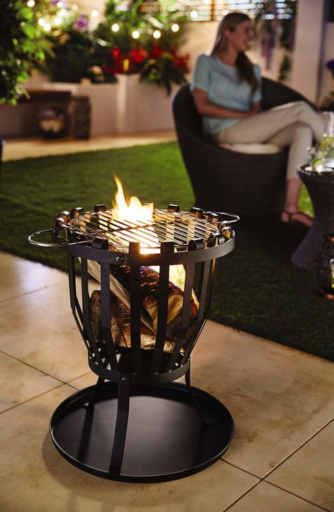 Fire Basket - Aldi Gardening Event Week