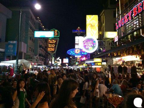 Night, Lighting, People, Crowd, Public space, City, Electronic signage, Marketplace, Signage, Bazaar,