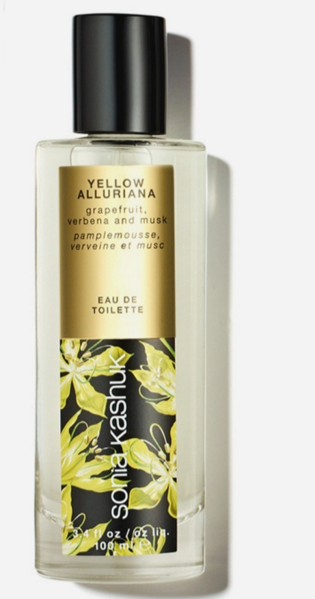 <p>Sonia Kashuk Eau De Toilette in Yellow Alluriana</p><p>售價美金20元(台幣約660元)</p><p>香水瓶內的微量泡沫含有豐富的柑橘及馬鞭草的成分。</p>