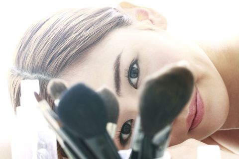 Lip, Cheek, Hairstyle, Skin, Forehead, Eyelash, Eyebrow, Pink, Style, Jaw,