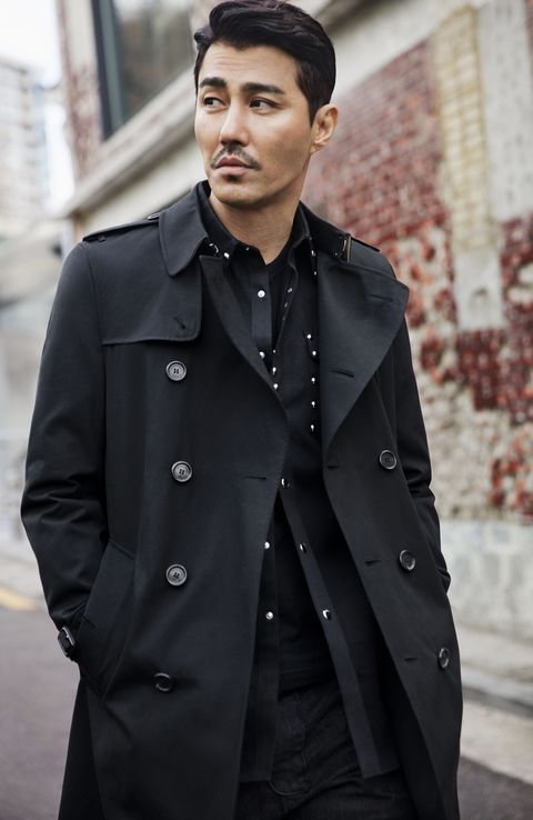 Clothing, Dress shirt, Coat, Collar, Sleeve, Shirt, Textile, Standing, Outerwear, Pocket,
